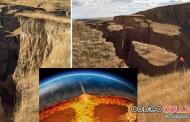 Colosal grieta en Wyoming podría ser causada por el supervolcán Yellowstone