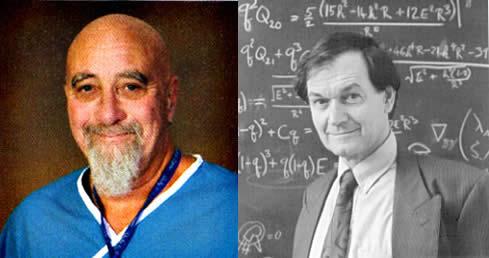Dr. Stuart Hamerroff y Sir Roger Penrose