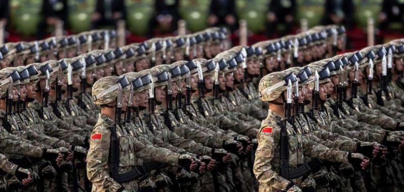 Mil infantes de Marina de China