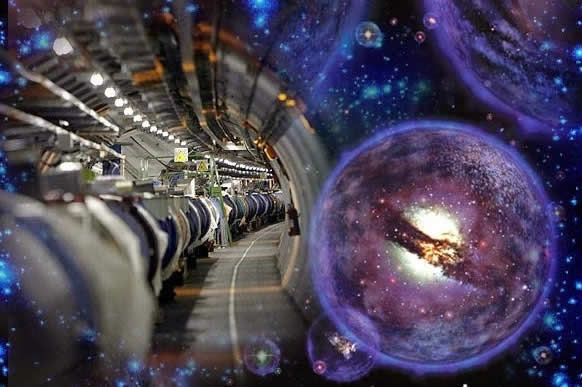 LHC podría encontrar universos paralelos