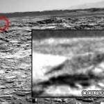 Vida en Marte o simple pareidolia: Imagen muestra algo similar a un lobo en Marte
