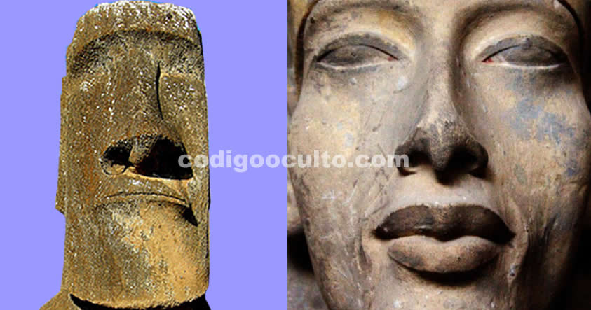 Los Moais y el Faraón egipcio Akenatón, ¿una posible conexión?