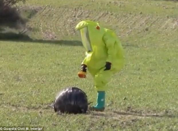Autoridades declararon cuarentena y analizaron el objeto