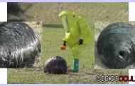 Una extraña esfera desconocida cae en España y autoridades cercan el área