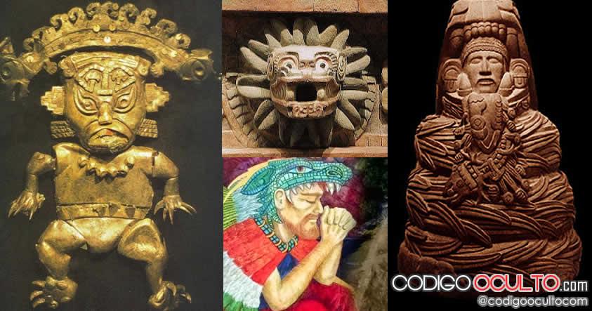 Los dioses de piel blanca de América: Viracocha, Quetzalcoatl y Kukulkan. Una conexión extraterrestre