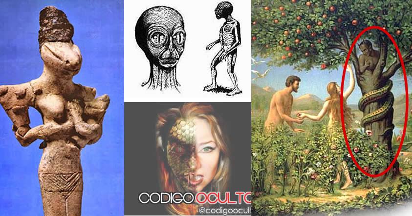 Los reptilianos: Enlaces entre la historia de la humanidad y la raza reptil