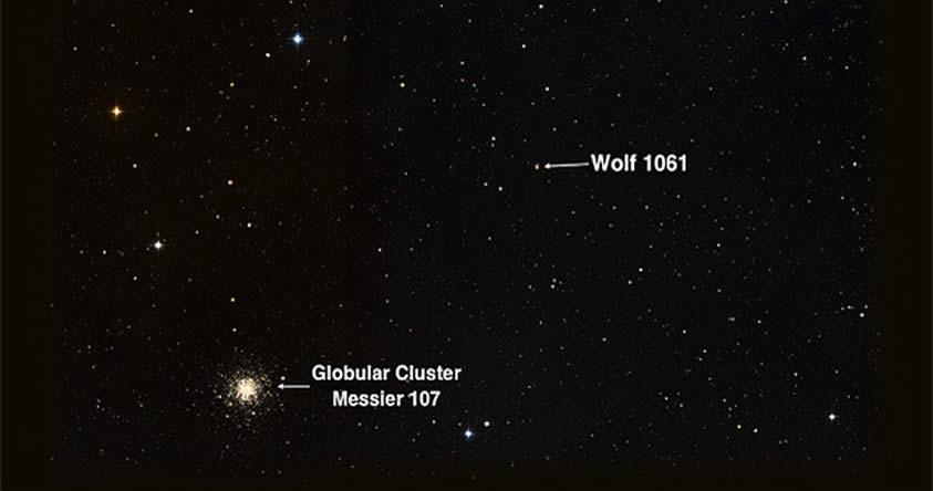 Descubren el planeta habitable más cercano de la Tierra, su nombre es: Wolf 1061c