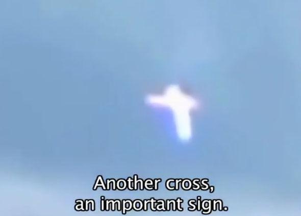 Señales en el cielo: Cruces en medio del conflicto de Ucrania