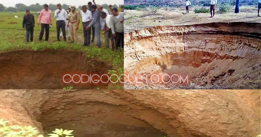 Decenas de extraños agujeros aparecen en aldeas de La India