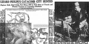 Una ciudad subterránea reptiliana descubierta por error en Los Ángeles
