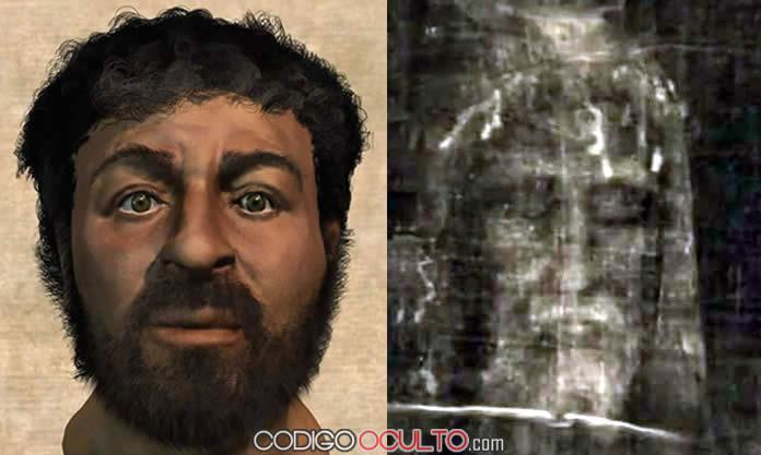 """Comparación entre """"rostros de Jesús"""", hay algunas coincidencias. ¿Qué opinan?"""