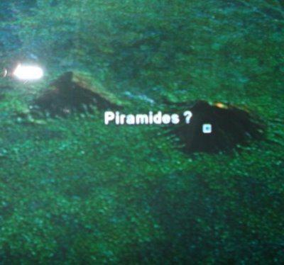 Pirámides (Imagen satelital)