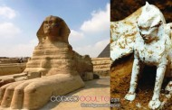 Una rara esfinge de mármol encontrada revela las conexiones entre Egipto y China antiguas