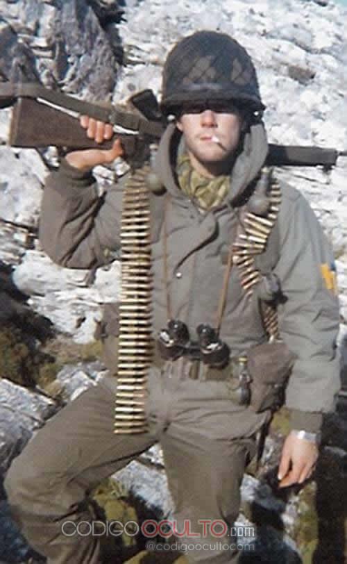 Martino durante la Guerra de las Malvinas
