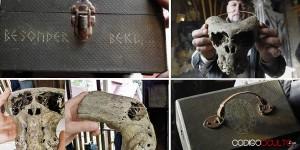 Maletín ligado a una Sociedad Secreta Nazi y dos misteriosos cráneos son descubiertos en Rusia