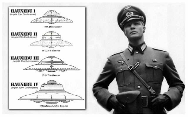 Platillos voladores nazis
