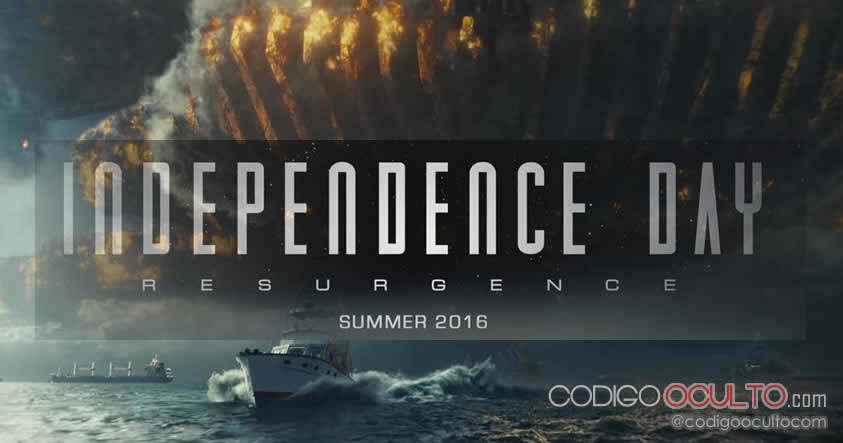 El primer trailer de Independence Day: Resurgence