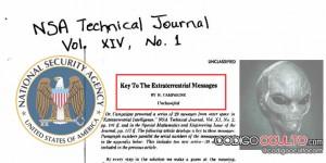 Documento de la NSA confirma decodificación de 29 mensajes extraterrestres