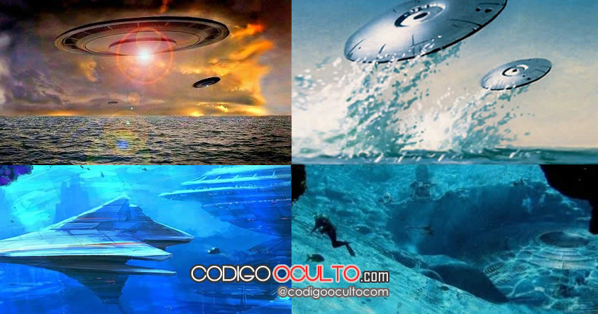 Archivos desclasificados de Rusia dicen que las naves extraterrestres submarinas son reales