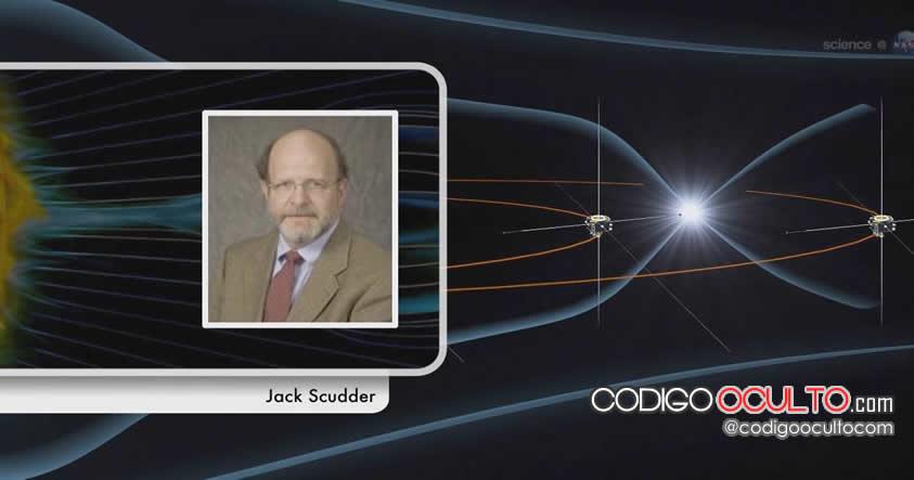 Científico financiado por NASA descubre portales en el campo magnético de la Tierra