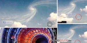 ¿Un OVNI abre un portal sobre el CERN?