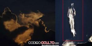 Misteriosa silueta humanoide es vista en cielo de Costa Rica... ¿es solo pareidolia?