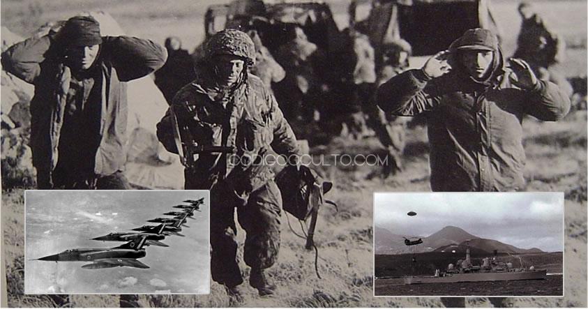 La Guerra de las Malvinas y la Intervención Extraterrestre encubierta