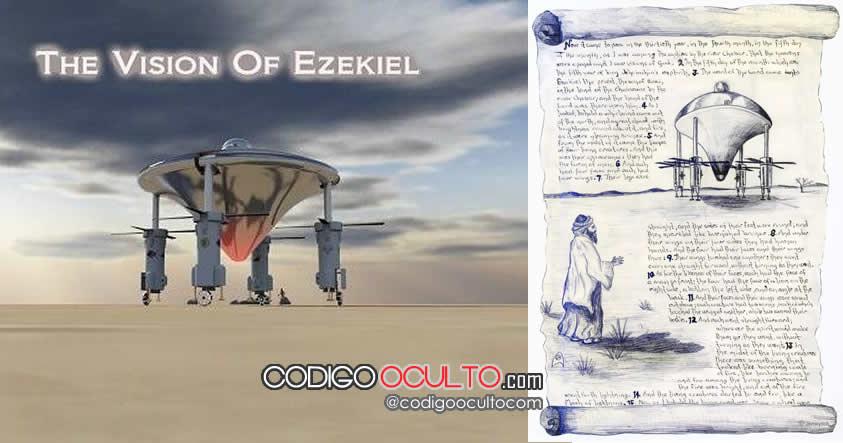 """El astrónomo que reconstruyó la """"nave espacial"""" que presenció Ezequiel, según la Biblia"""