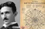 Revelan un documento inédito con diagramas matemáticos ideados por Nikola Tesla