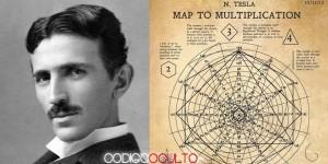 Revelan un documento con diagramas matemáticos ideados por Nikola Tesla