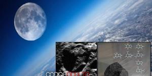 La Luna puede contener sustancias biológicas de otros sistemas estelares