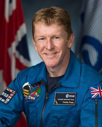 Tim Peake afirma su posición en torno a la existencia de vida extraterrestre.