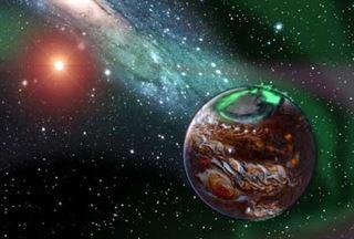 Descubren dos planetas orbitando una estrella