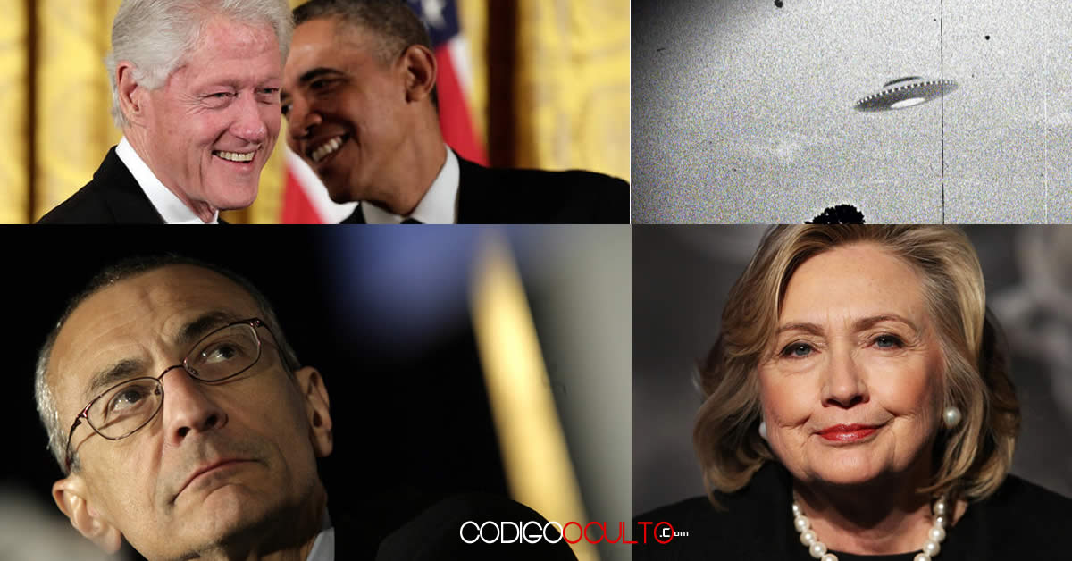 ¿Hillary Clinton acaba de hacer una promesa de investigar el fenómeno OVNI?