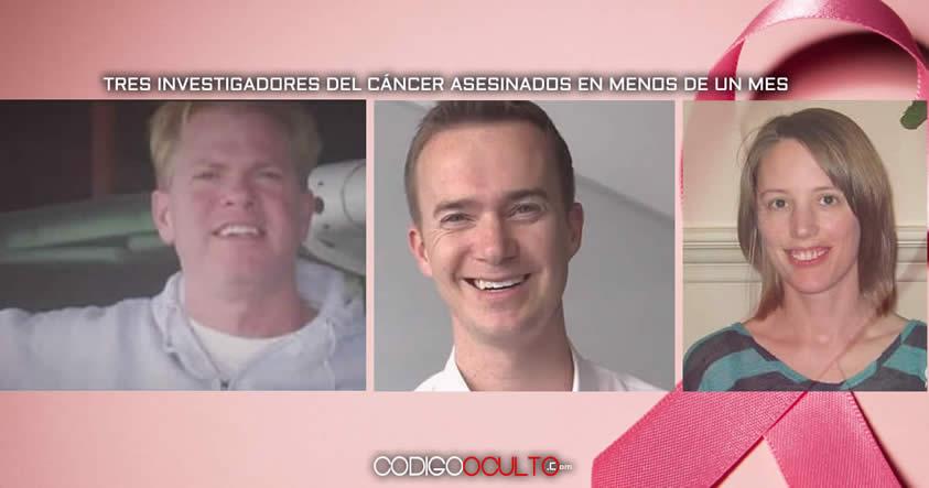 Tres investigadores del cáncer presuntamente asesinados en menos de un mes