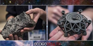 Crean una estructura impresa en 3D con material extraterrestre