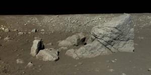 El verdadero color de la superficie de la Luna