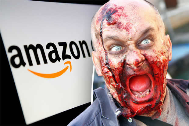 """Amazon actualiza sus términos de uso ante un """"apocalipsis zombie""""."""
