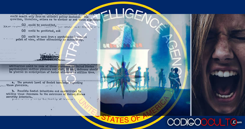 """La CIA y la utilización de la """"invasión extraterrestre"""" como guerra psicológica"""