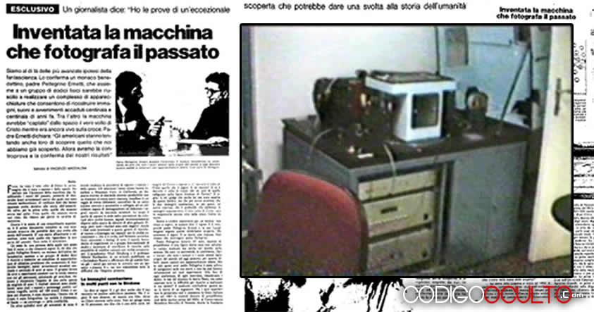 El Cronovisor, dispositivo del Vaticano para «mirar» el futuro y el pasado