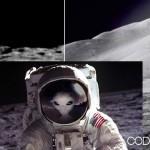 Extraterrestres forzaron a los norteamericanos a irse de la Luna