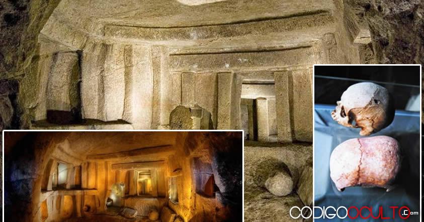 Hipogeo: El templo prehistórico que oculta el misterio de los cráneos alargados