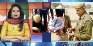 TV de la India muestra el primer vídeo del OVNI derribado por la Fuerza Aérea