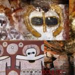 Las pinturas rupestres «extraterrestres» de Australia podrían ser las más antiguas del planeta