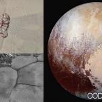 Plutón y sus misteriosas montañas flotantes de hielo