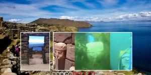 El Templo de una antigua civilización sumergido en el Lago Titicaca