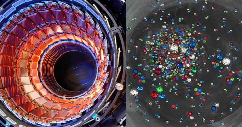 Científicos logran recrear en el CERN la «sopa primordial» del Universo