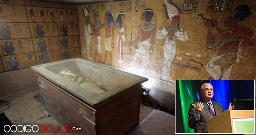 Ministro de Turismo de Egipto filtra información: «Tumba de Tuntakamón está llena de tesoros»