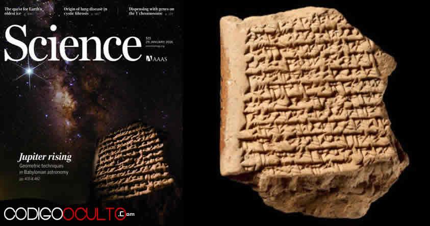 Un mapa del planeta Júpiter hecho en la antigua Babilonia que podría cambiar la Historia