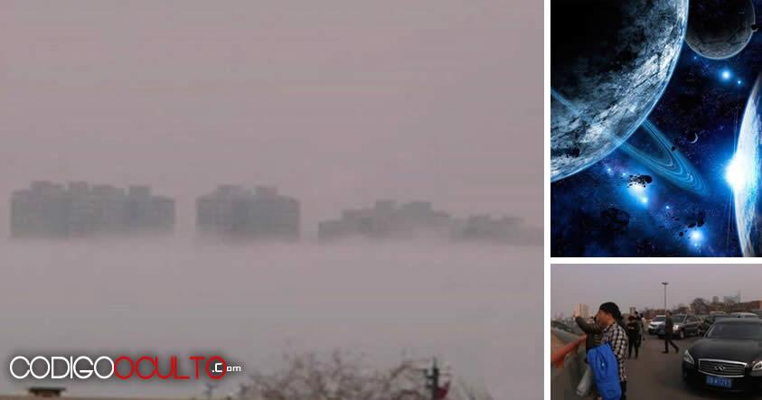 Otra ciudad flotante aparece en China ¿Evidencia de universos paralelos?